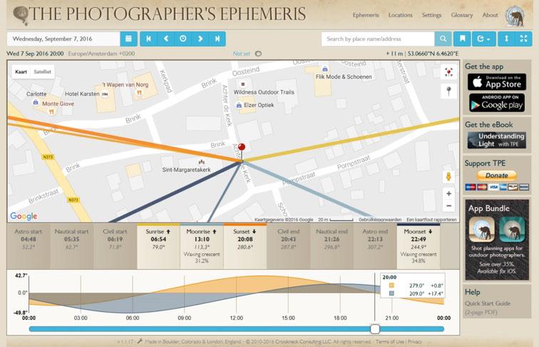photoephemeris